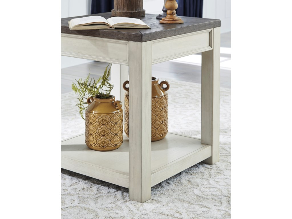 Signature Design by Ashley BolanburgSquare End Table