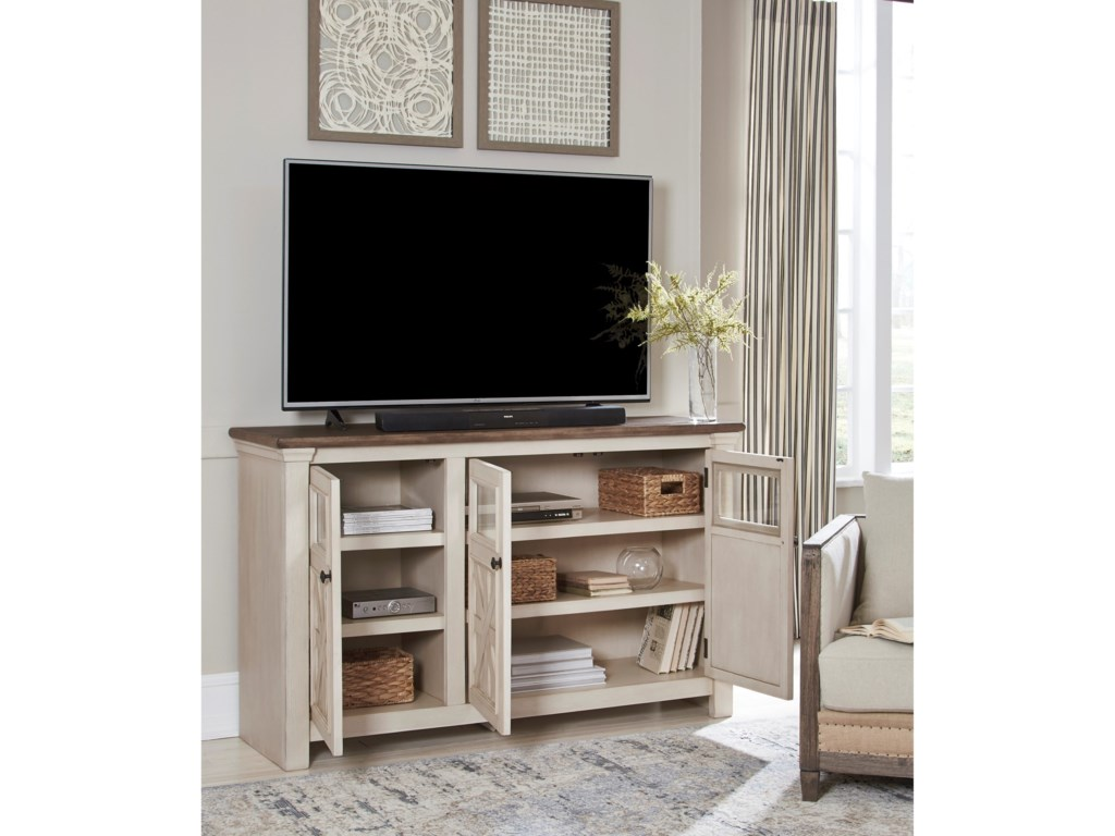 Signature Design by Ashley BolanburgLarge TV Stand