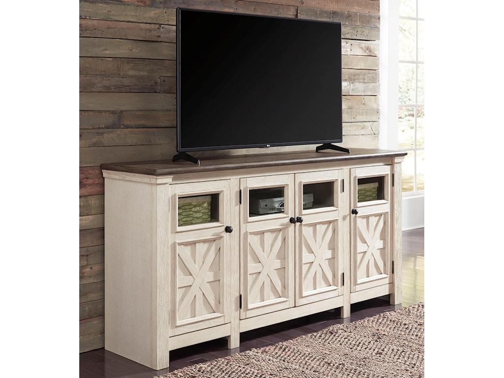 Ashley (Signature Design) BolanburgExtra Large TV Stand