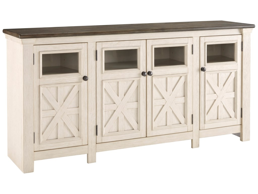 Ashley (Signature Design) BolanburgExtra Large TV Stand