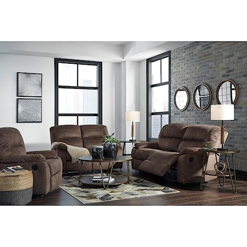 Signature Design by Ashley Bolzano Reclining Living Room Group