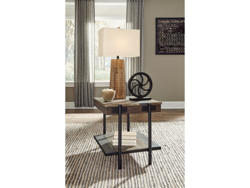 Signature Design by Ashley BostweilSquare End Table