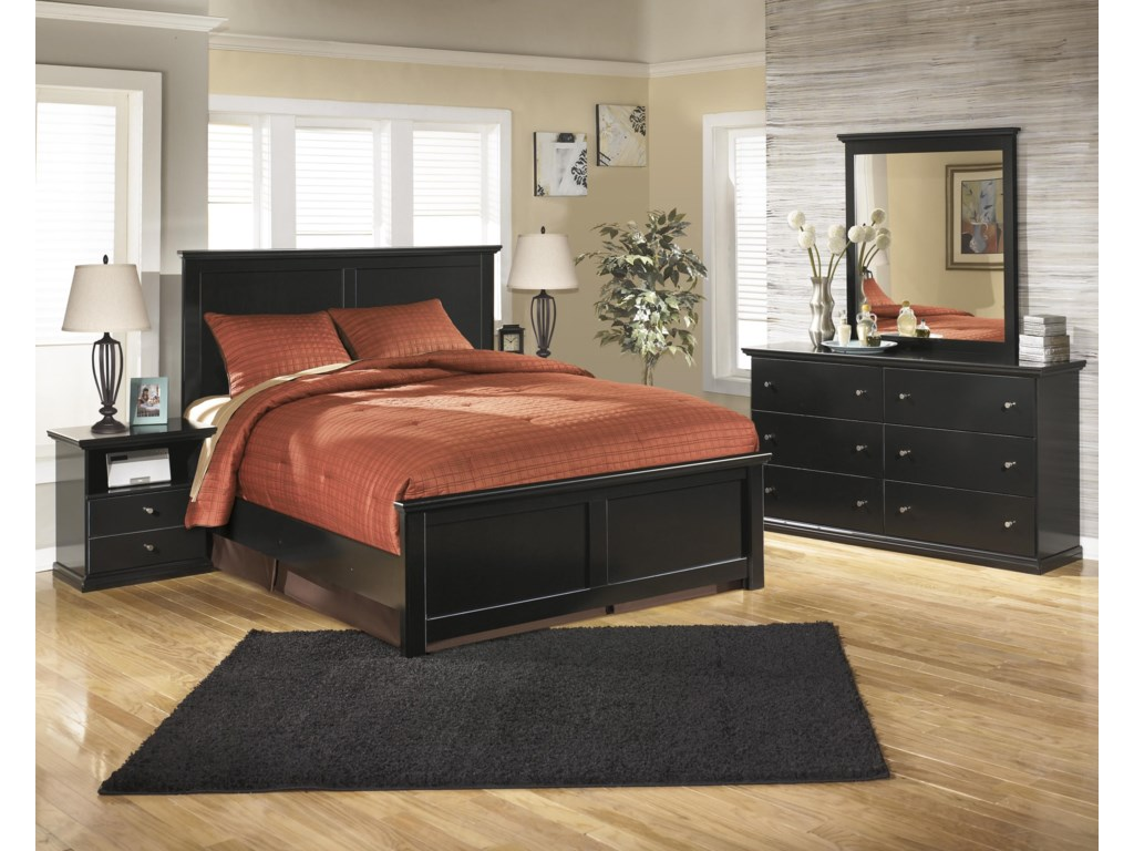 Signature Design by Ashley MaribelKing Panel Bed, Dresser, Mirror and Nightst