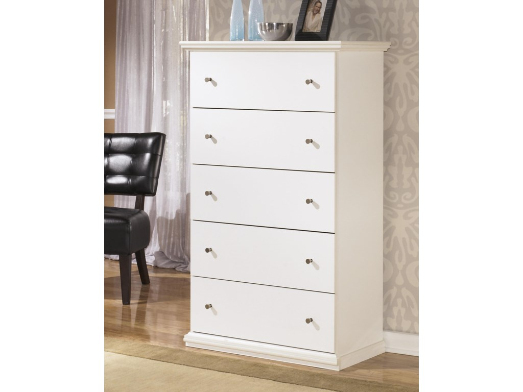 Signature Design by Ashley Bostwick ShoalsFull Panel Bed, Nightstand and Chest Package