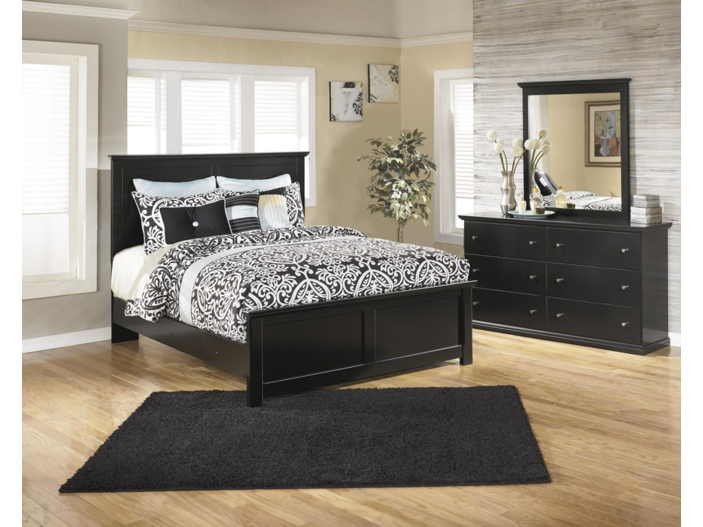 Signature Design by Ashley MaribelQueen Panel Bed, Dresser and Mirror Package