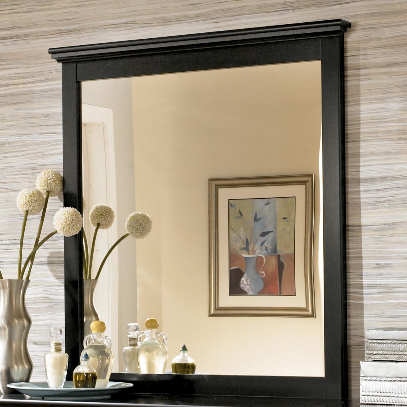 Ordinaire Signature Design By Ashley Maribel Landscape Bedroom Mirror