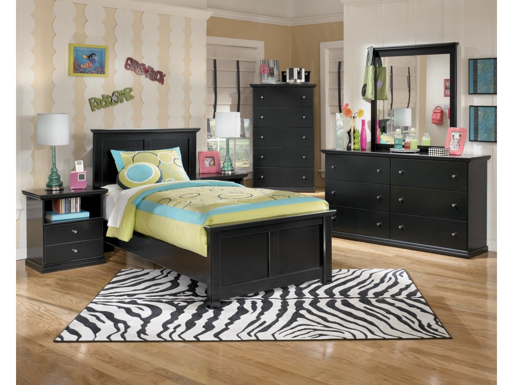 Ashley (Signature Design) MaribelTwin Panel Bed