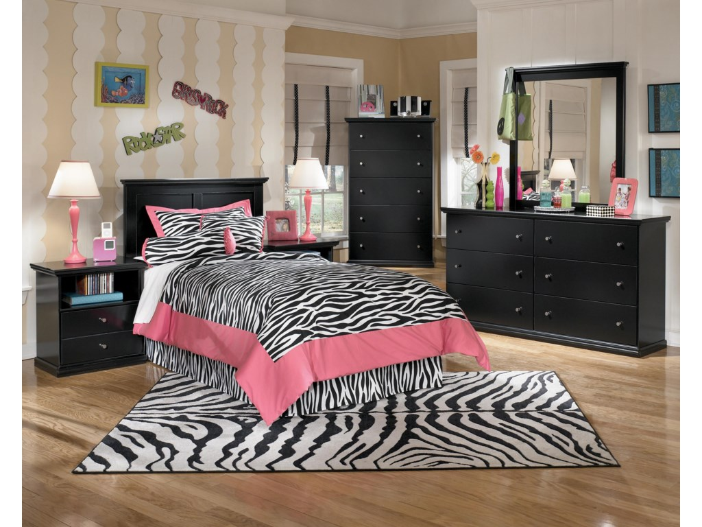 Ashley Signature Design MaribelTwin Panel Headboard