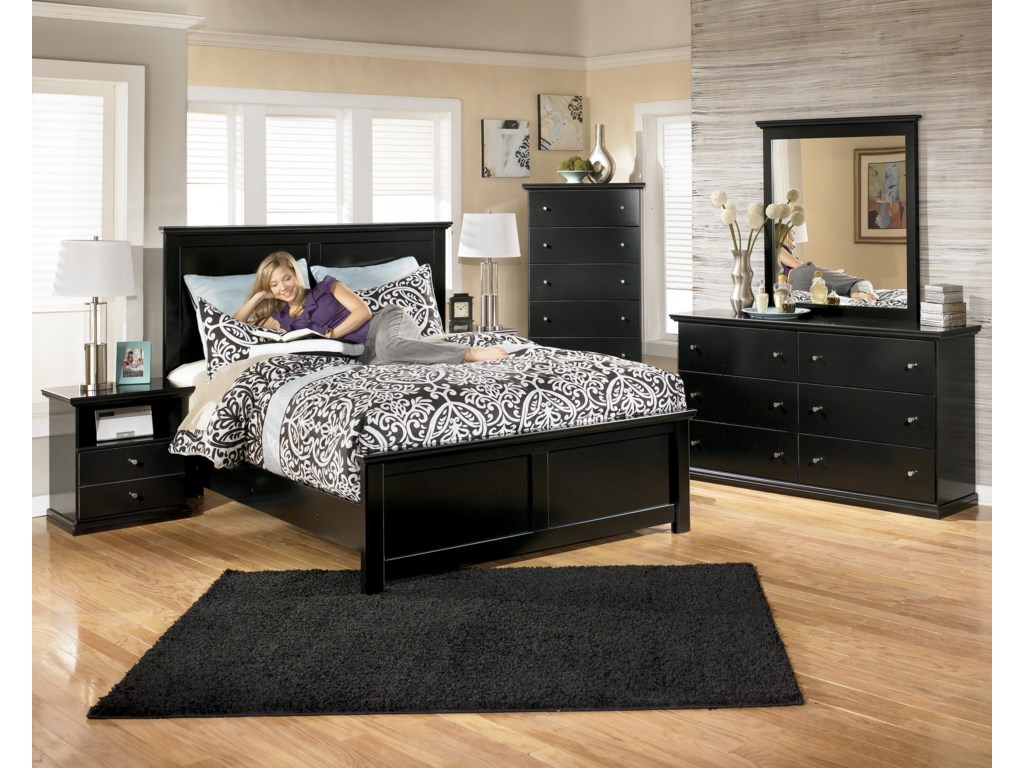 Signature Design by Ashley MaribelQueen Panel Bed