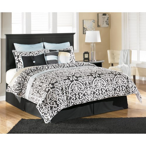Signature Design by Ashley Maribel King/California King Panel Headboard with Classic Moulding