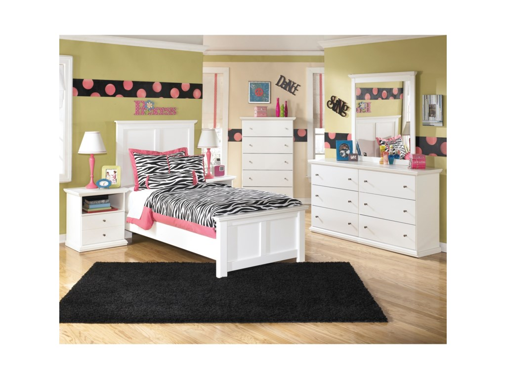 Signature Design by Ashley Bostwick ShoalsTwin Bedroom Group