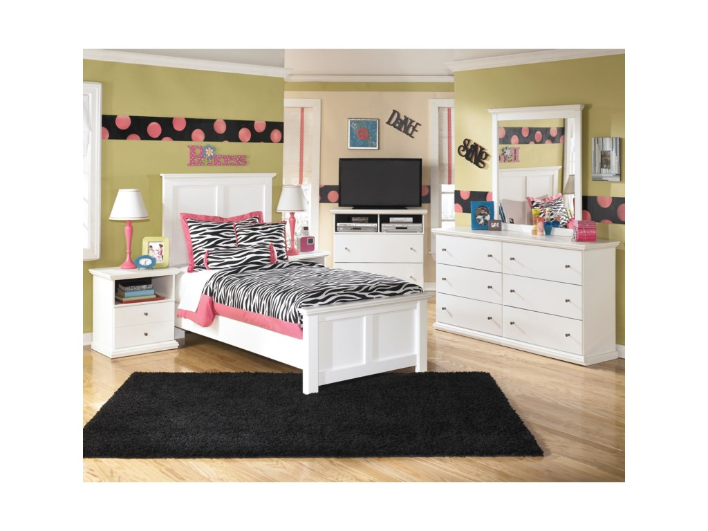 Signature Design by Ashley Bostwick Shoals Twin Bedroom Group ...