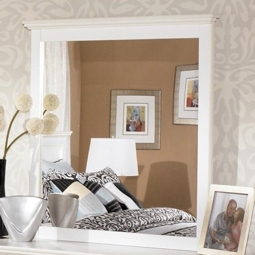 Signature Design by Ashley Bostwick Shoals Landscape Bedroom Mirror