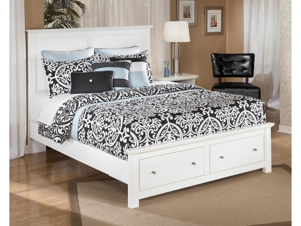 Signature Design by Ashley Bostwick Shoals Queen Storage Bed with 2 ...