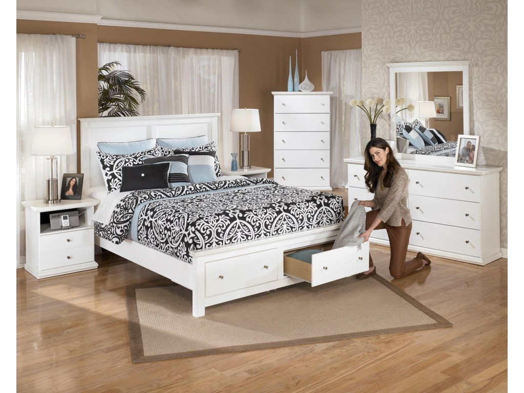 Ashley (Signature Design) Bostwick ShoalsQueen Storage Bed