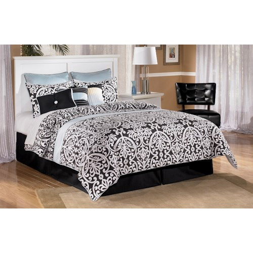 Signature Design by Ashley Bostwick Shoals Queen/Full Simple Panel Headboard
