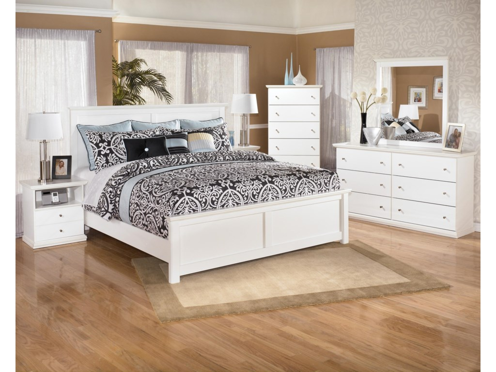 Signature Design by Ashley Bostwick ShoalsKing Panel Bed