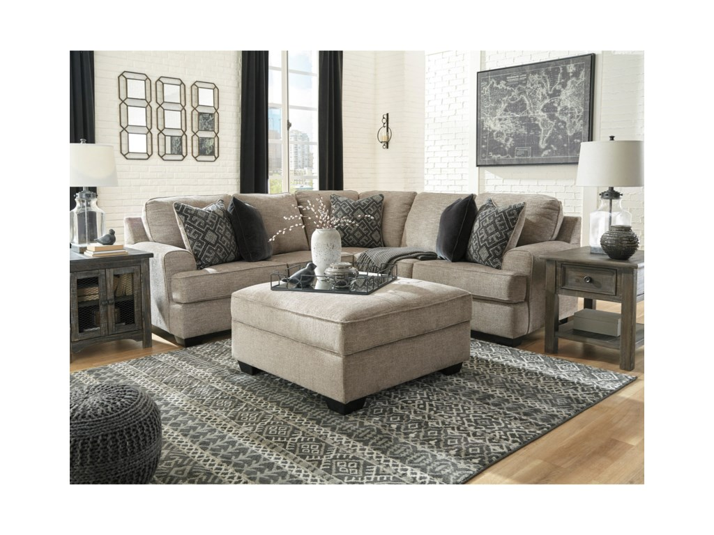 Ashley (Signature Design) BovarianStationary Living Room Group