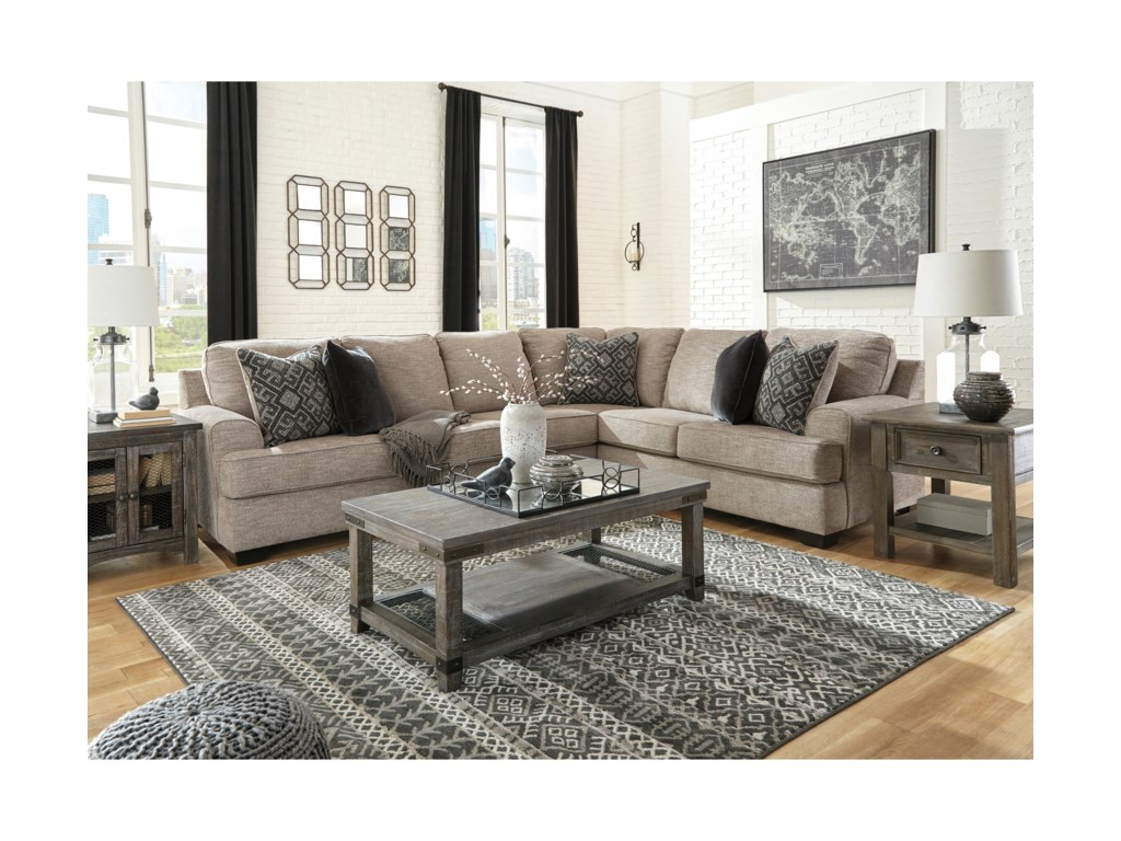 Ashley (Signature Design) Bovarian3-Piece Sectional