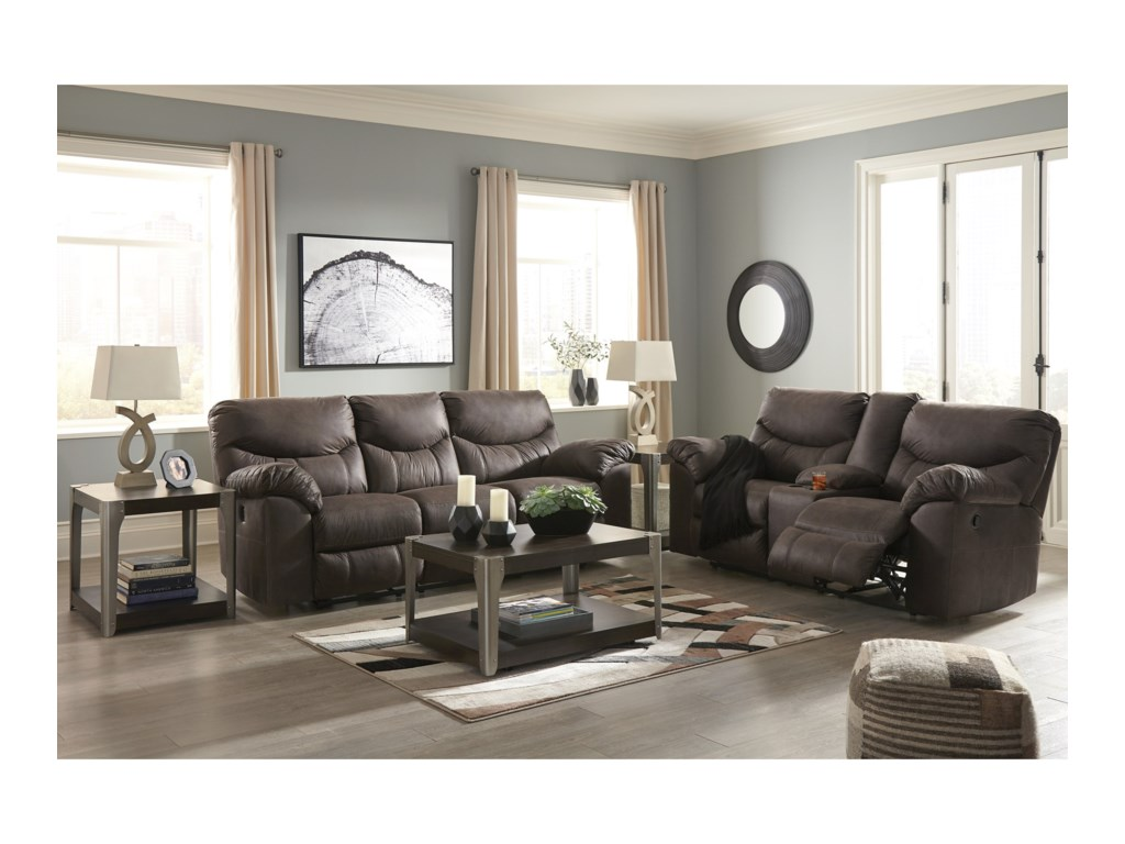 Signature Design by Ashley BoxbergReclining Living Room Group