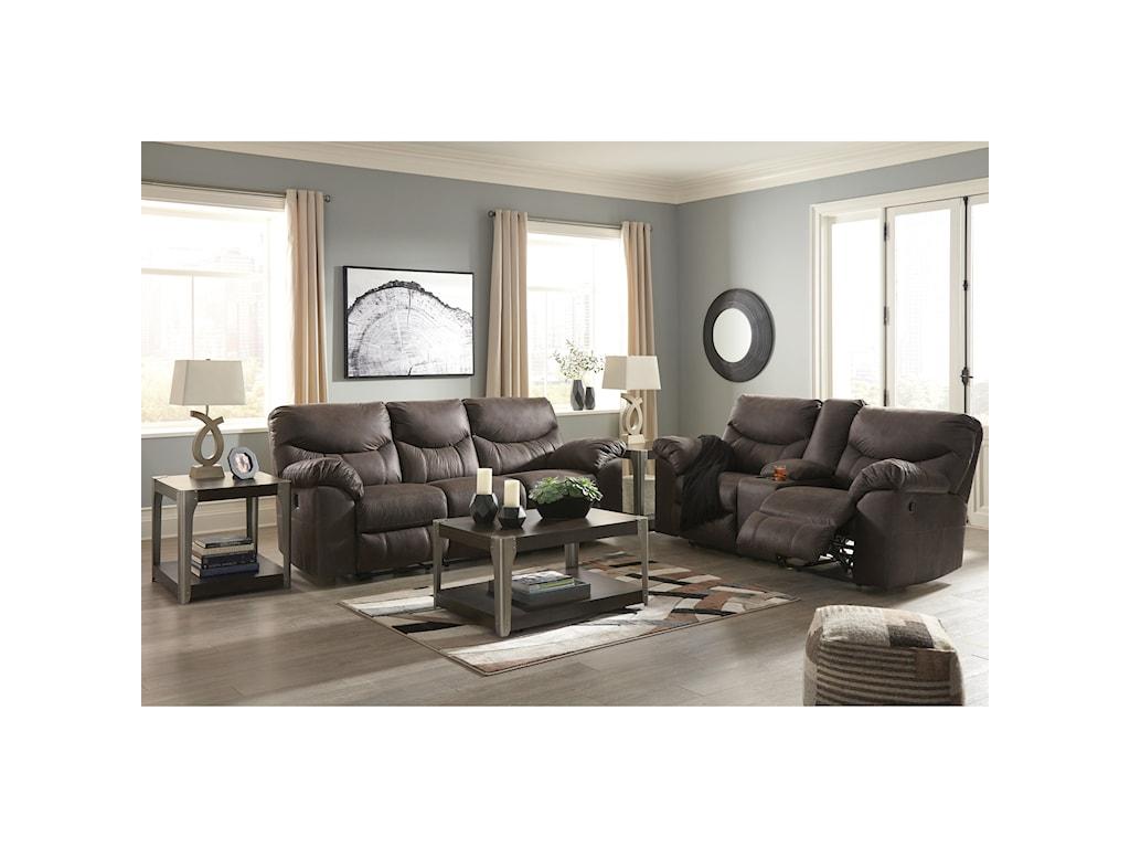 Signature Design by Ashley BoxbergReclining Living Room Group