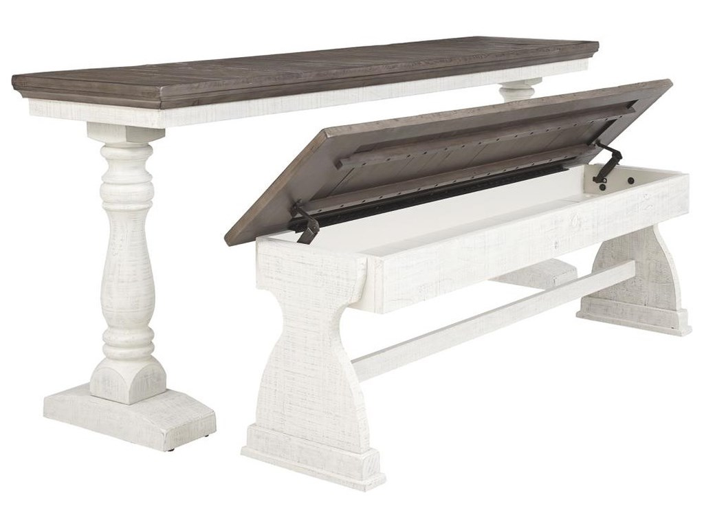 Signature Design by Ashley Braelow2 PC Rectangular table and Bench Set