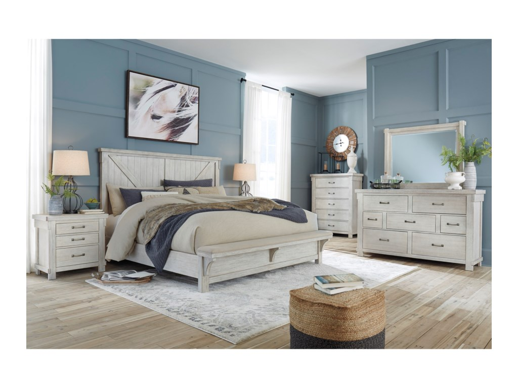 Signature Design by Ashley BrashlandQueen Bedroom Group