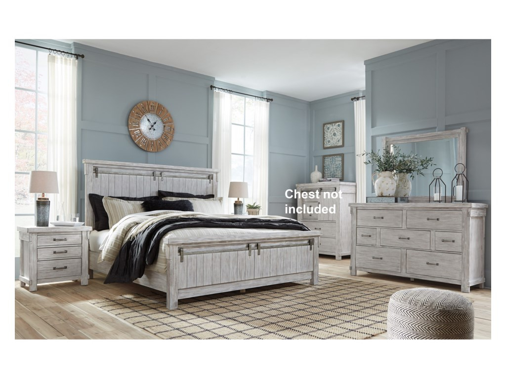 Ashley (Signature Design) BrashlandKing Bedroom Group