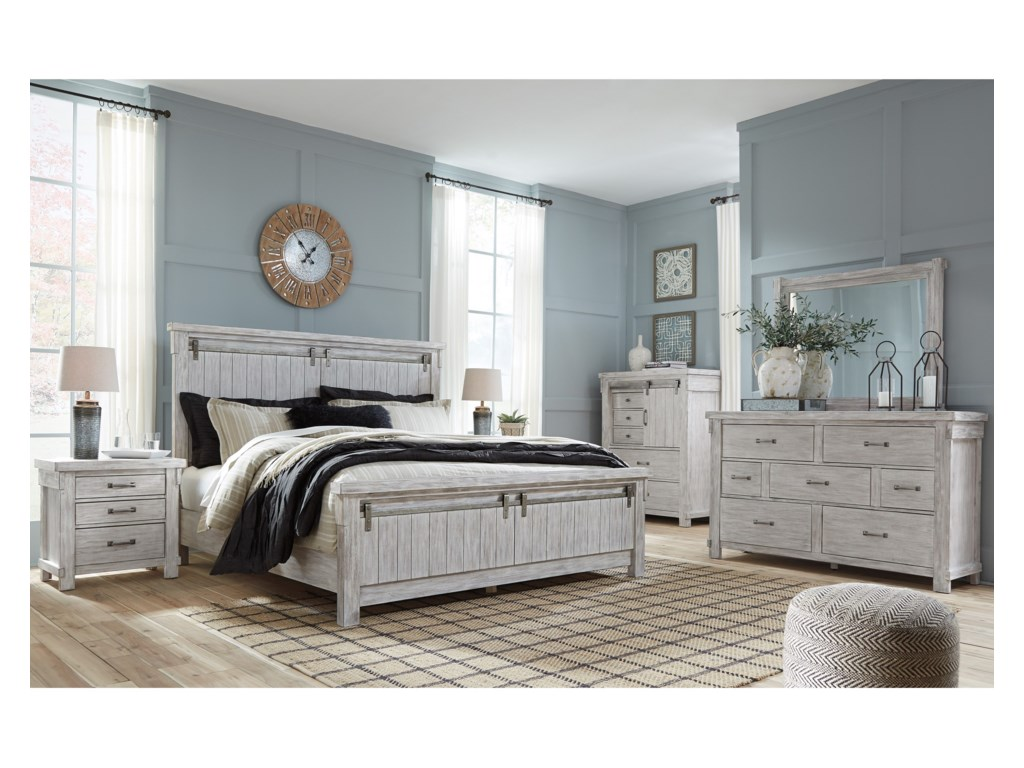 Signature Design By Ashley Brashland Queen Bedroom Group Becker