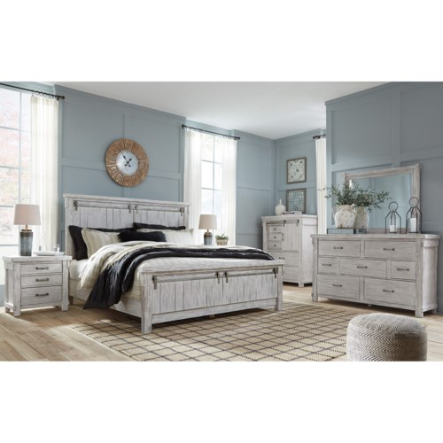 Bedroom Groups: Signature Design By Ashley Brashland Queen Bedroom Group