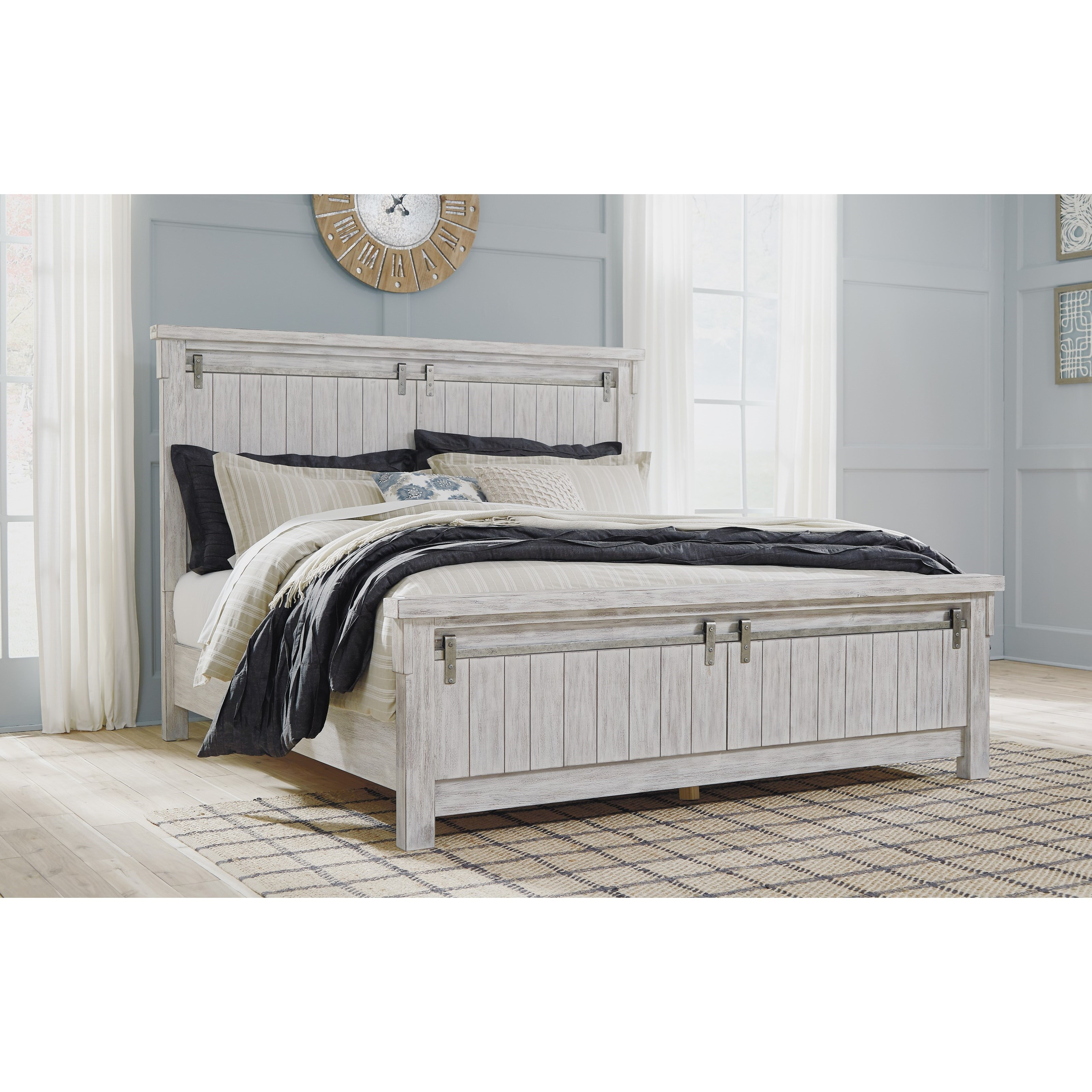 Relaxed Vintage Queen Panel Bed