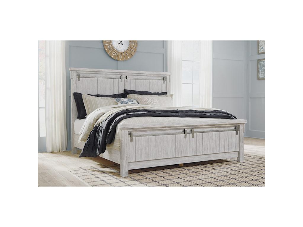 Ashley (Signature Design) BrashlandCalifornia King Panel Bed