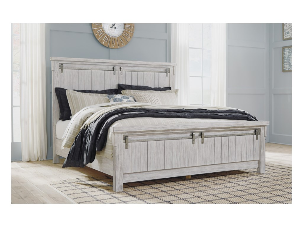 Signature Design by Ashley BrashlandKing Panel Bed