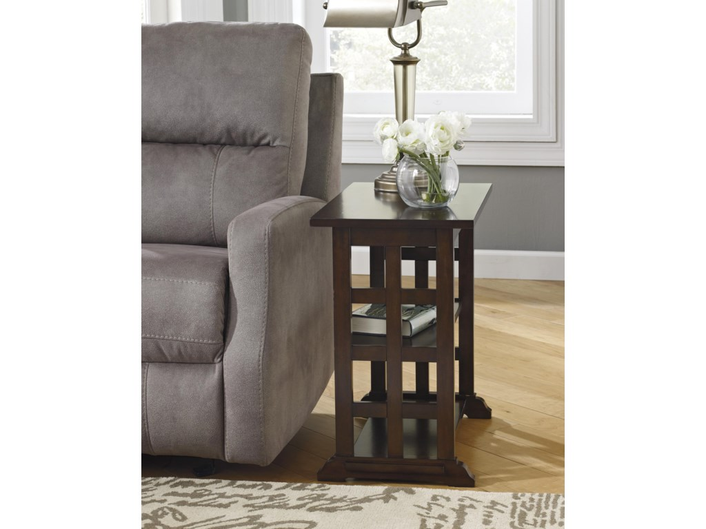 Trendz BraunsenChair Side End Table