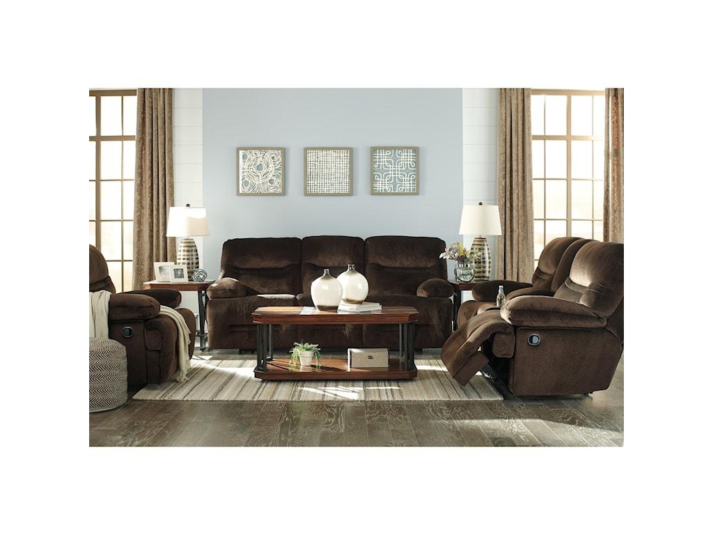 Ashley (Signature Design) BrayburnReclining Living Room Group