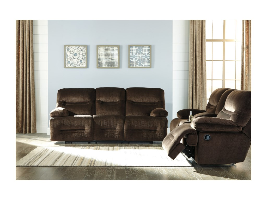 Ashley (Signature Design) BrayburnPower Reclining Living Room Group