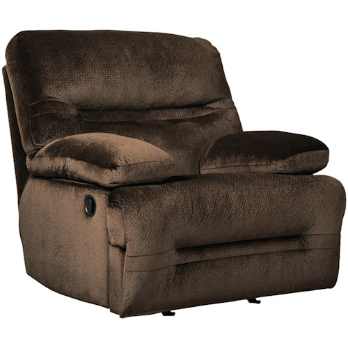 Signature Design by Ashley Brayburn Contemporary Rocker Recliner