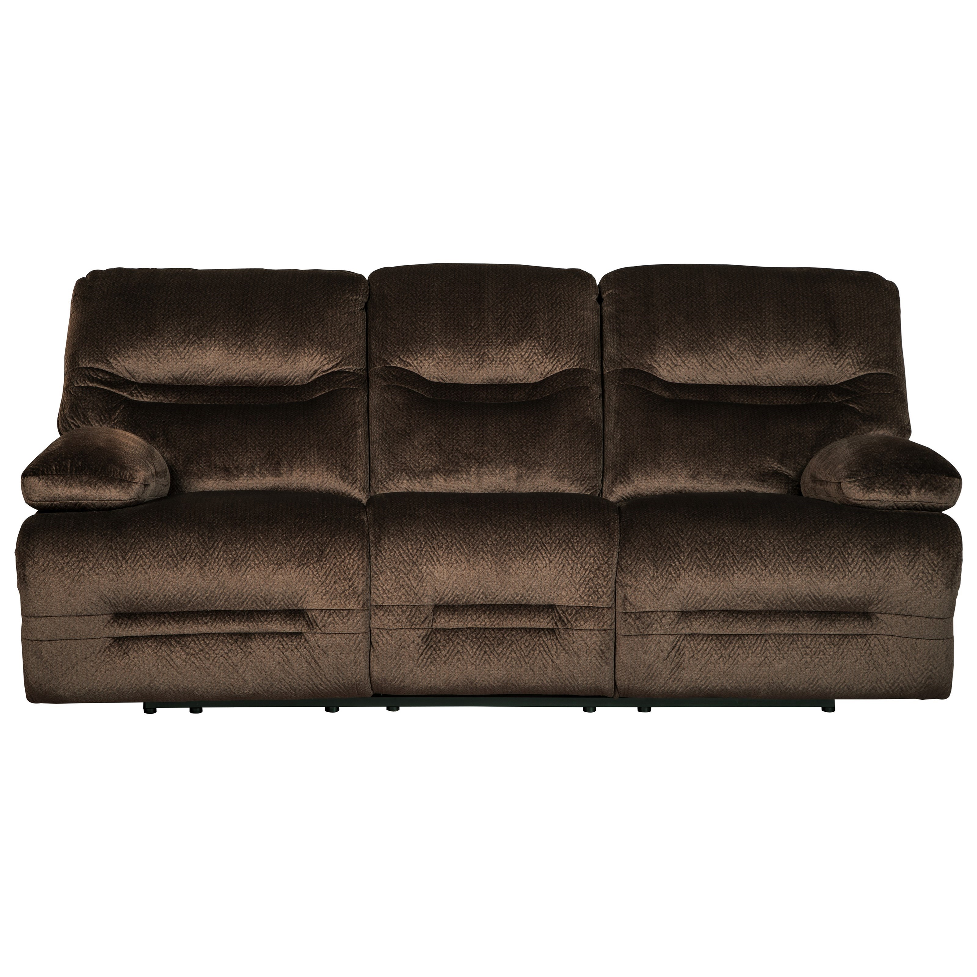 Signature Design By Ashley Brayburn Contemporary Reclining Sofa