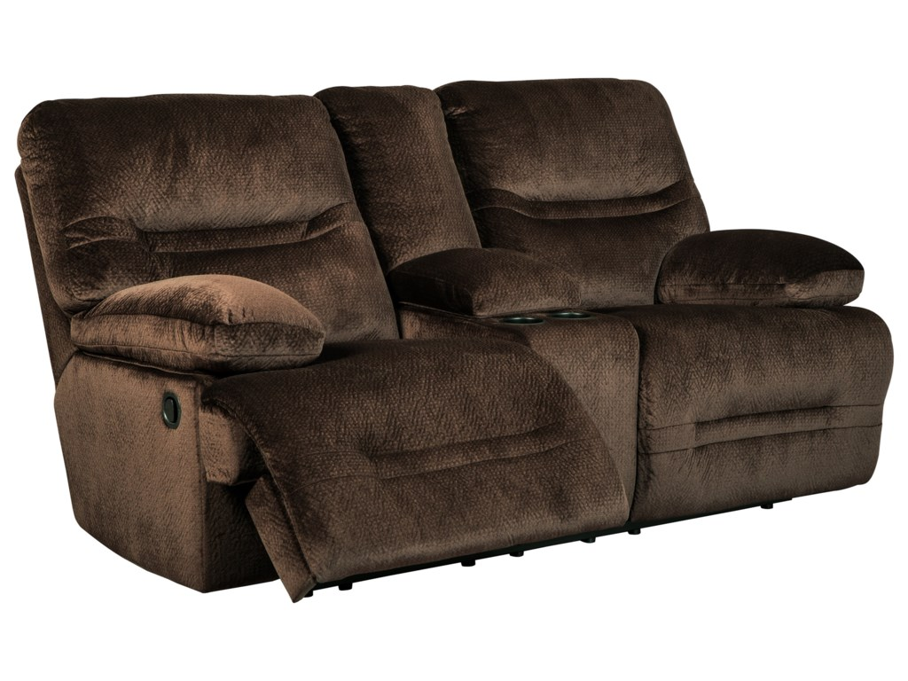 Collection # 4 BrayburnDouble Reclining Power Loveseat w/ Console