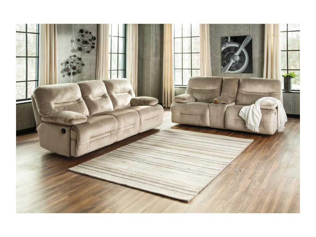 Ashley (Signature Design) BrayburnReclining Living Room Group