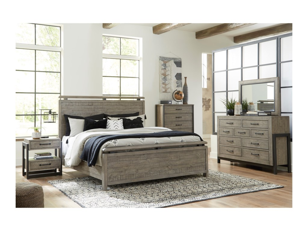 Signature Design by Ashley BrennaganQueen Panel Bed