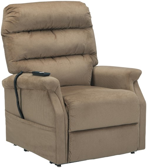 Signature Design by Ashley Brenyth Power Lift Recliner with Remote Control