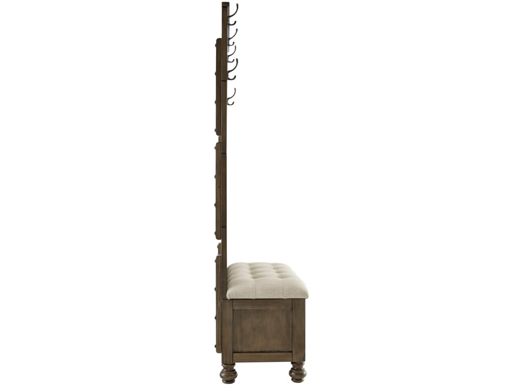 Signature Design by Ashley BrickwellHall Tree with Storage Bench