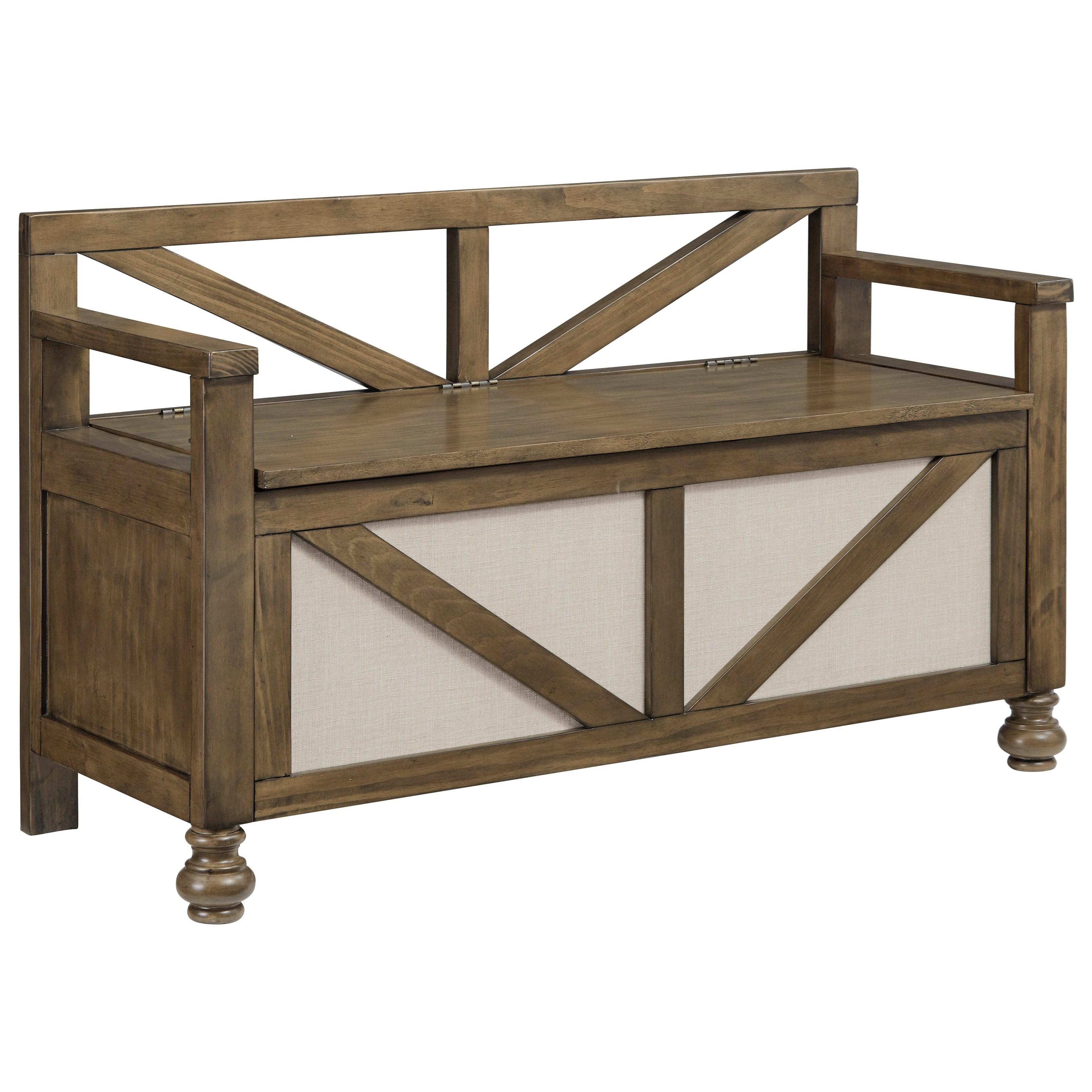 Farmhouse Storage Bench with Lift Seat