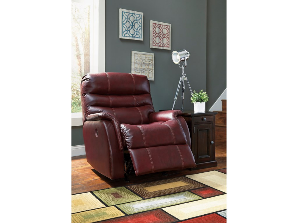 Signature Design by Ashley BridgerPower Rocker Recliner