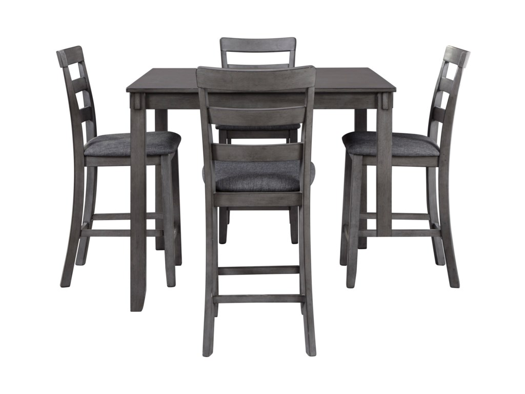 Signature Design by Ashley Bridson5-Piece Square Counter Table Set