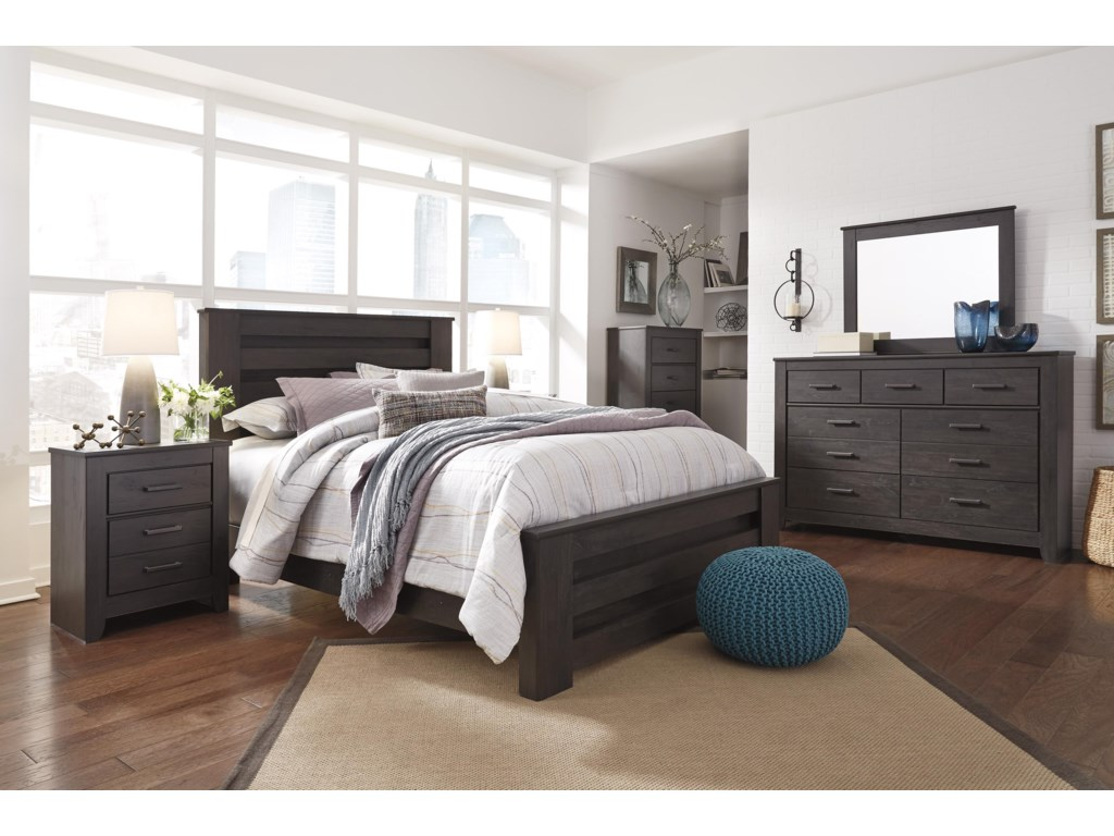 Signature Design by Ashley BrinxtonKing Panel Bed Package