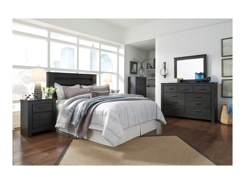 Signature Design by Ashley BrinxtonQueen/Full Bedroom Group