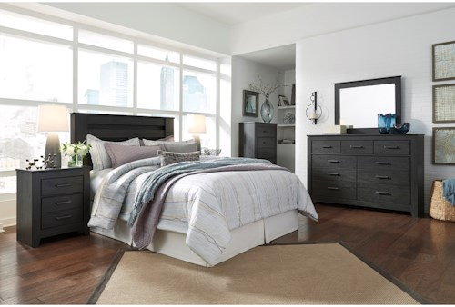 Signature Design by Ashley Brinxton Queen/Full Bedroom Group