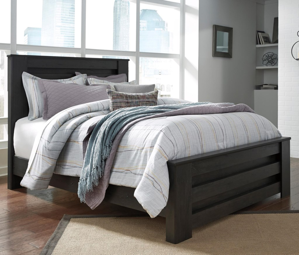 Becker Design signature design by brinxton poster bed in charcoal